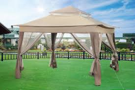 15 X 15 Metal Gazebo by Sunjoy 10 Ft W X 10 Ft D Steel Pop Up Gazebo U0026 Reviews Wayfair