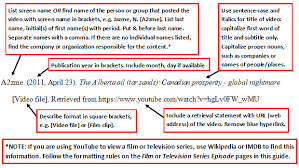 apa format movie titles ideas collection streaming video on youtube no producer or director