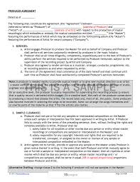 music promoter contract template best resumes curiculum vitae