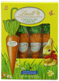 lindt halloween candy amazon com lindt chocolate carrots 4 count 1 9oz chocolate