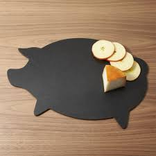 Pig Kitchen Curtains by Epicurean Pig Cutting Board Crate And Barrel