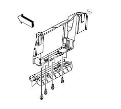 repair instructions radiator air baffle assemblies and