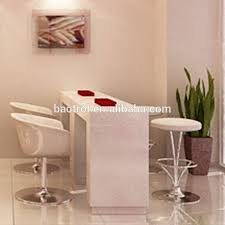 Nail Bar Table Most Popular Artificial Marble Nail Bar Tables For Nail Salon Shop