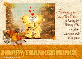 happy thanksgiving with thanksgiving wishes to my
