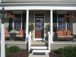front porch furniture ideas incredible craftsman cottage front