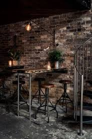 finest vintage industrial bar restaurants examples vintage
