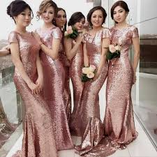 Dusty Rose Wedding Dress Dusty Rose And Gold Bridesmaid Dresses Naf Dresses