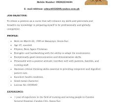 ex of nurse resume skills summary list nursing resumes new graduates templates student nurse resume