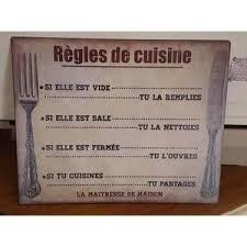 plaque d馗orative cuisine plaque metal deco cuisine achat vente plaque metal deco