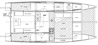 Catamaran Floor Plans Waller Tc 750 24 6 Ft Multichine Ply Wide Load Trailerable