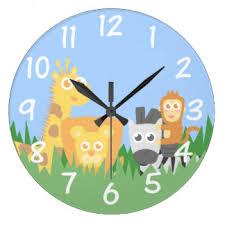 themed clock monkey wall clocks zazzle