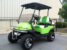 lime green beach cruiser u2013 club car precedent golf cart u2013 electric