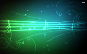 music notes background 2591