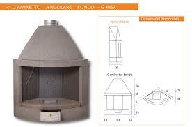 Caminetto In Ghisa Prezzi by Prodotti Italfiori Grill Forni Caminetti