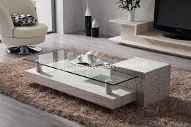 marble center table images modern new design living room furniture modern white marble coffee table