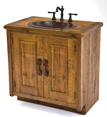 Barnwood Bathroom Vanity Barnwood Bathroom Vanity Rustic Barnwood Vanity