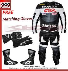 motorcycle racing jacket honda cbr yellow black racing leather motorcycle suit jacket