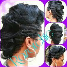 hype hair styles for black women cute dry waves mohawk curls beauty health fitness