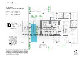 floor plans one palm at palm jumeirah dubai omniyat