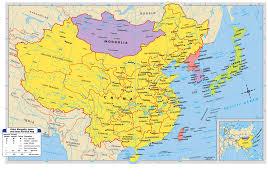 map of china maps china mongolia the koreas and japan