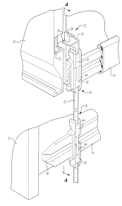 Lateral File Cabinet Lock Replacement by Patent Us6186606 Lateral File Locking System Google Patents