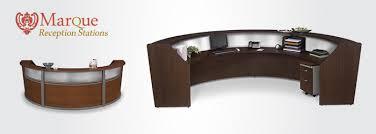Reception Station Desk Ofm 55313 Marque Modern Front Desks For Sale Plexiglass