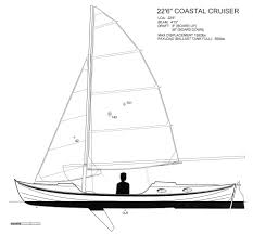 now row sail cruiser from cheasapeake light craft archive the