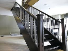 metal banister ideas decoration metal stair rails modern railings interior railing