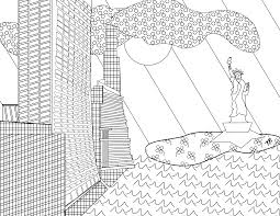 free new york ish coloring page kristinbell org