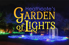 Botanical Gardens Lights Garden Of Lights Heathcote Botanical Gardens