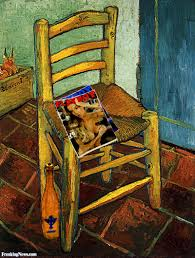 van gogh 2013 pictures freaking news playboy magazines in a van gogh painting