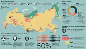 Map Of World Religions by Maptitude U2014 A Map Of Religion In Russia