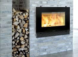 wood fireplace binhminh decoration