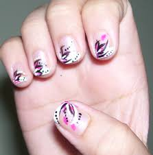 11 easy flower nail designs to do at home tois another heaven
