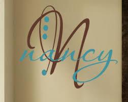 fancy lettering etsy