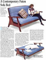 Futon Sofa Bed Plans U2022 Woodarchivist