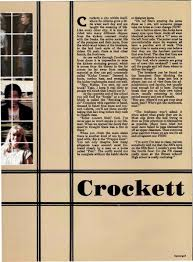 crockett high school yearbook explore 1985 crockett high school yearbook tx classmates