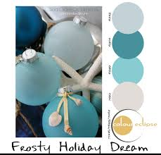 paint palettes frosty holiday dream guest room paint colour