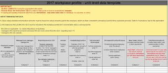 preparing workplace profile data the workplace gender equality