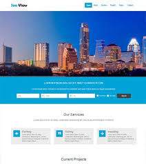 html5 travel agency website template free download