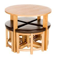 space saving dining chairs beautiful space saving table and