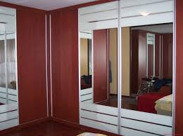 Thin Closet Doors Bedroom Wall Cabinet With Mirror Side White Closet Door