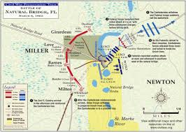 Map Of Tallahassee Florida by Natural Bridge Civil War Trust