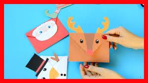 printable christmas envelopes fun christmas craft for kids youtube