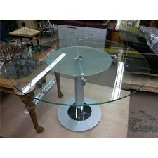 dining room table round contemporary lazy susan center