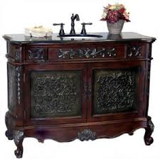 Antique Looking Bathroom Vanity Antique Bathroom Vanities With Unique Aged Finished For An