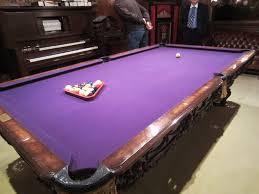 purple felt pool table purple billiards table 2013 carnegie international blog