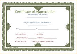 4 certificates of appreciation templates bookletemplate org