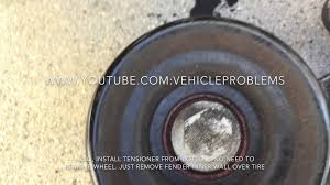 1995 2002 lincoln continental belt tensioner water pump removal