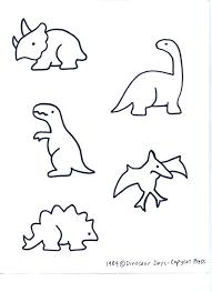 printable traceable dinosaur pictures mediafoxstudio com